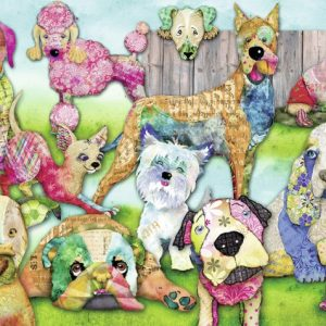 Patchwork Pups 150 PC Jigsaw Puzzle