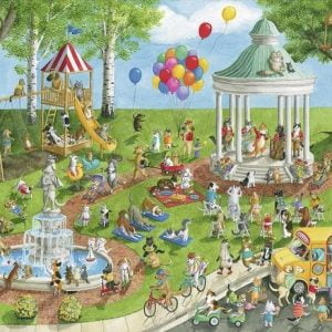 Pet Park 300 PC Jigsaw Puzzle
