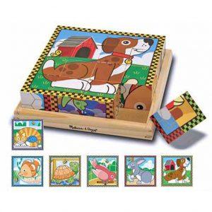 Pets 16 PC Cube Puzzle