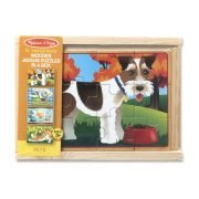 Pets 4 x 12 PC Jigsaw Puzzle