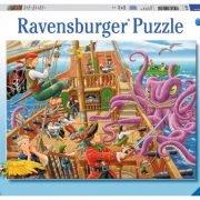 Pirate Boat Adventure 100 PC Jigsaw Puzzle