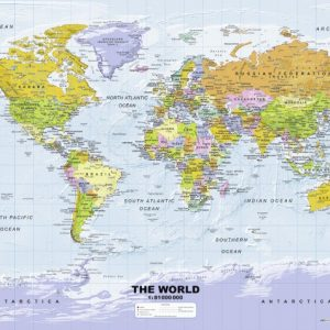 Political World Map 500 PC Jigsaw Puzzle
