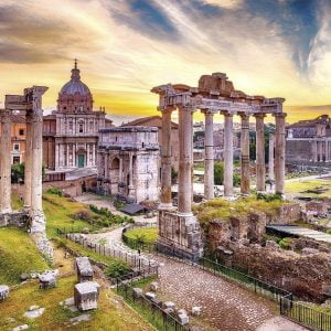 Rome at Dusk 500 PC Jigsaw Puzzle