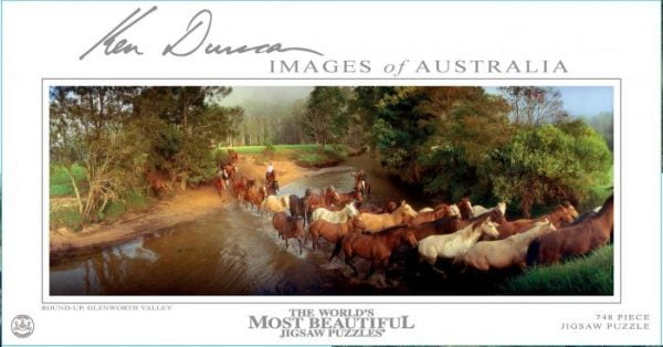 Round-Up Glenworth Valley NSW 748 PC Jigsaw Puzzle