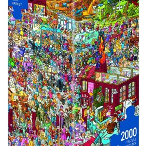 Schone Flea Market 2000 PC Heye Jigsaw Puzzle