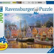 Ships Aglow 500 LGE PC Format Jigsaw Puzzle