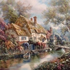 Stonewall Cottage 1000 PC Anatolian Jigsaw Puzzle