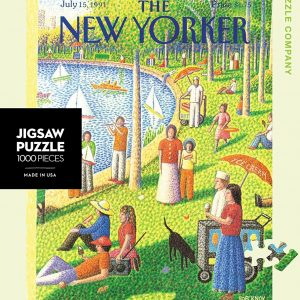 Sunday Afternoon in Central Park 1000 PC Jigsaw Puzzle