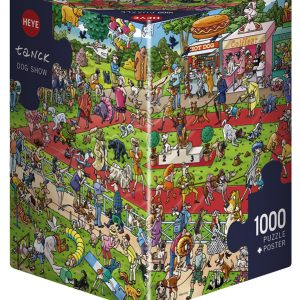 Tanck Dog Show 1000 PC Jigsaw Puzzle