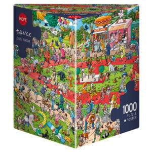 Tanck - Dog Show 1000 Piece Puzzle - Heye