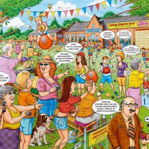 The Best of British 17 - School Sports Day 500 PC Jigsaw Puzzle