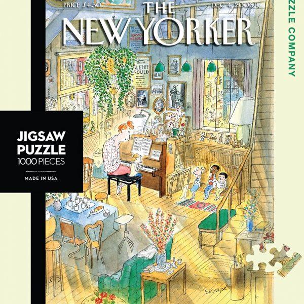 The Piano Lesson 1000 PC Jigsaw Puzzle
