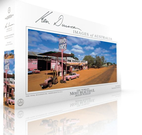 The Pink Roadhouse Oodnadatta SA 748 PC Jigsaw Puzzle
