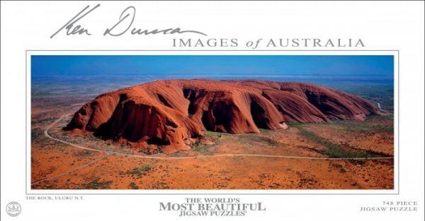 The Rock Uluru 748 PC Jigsaw Puzzle