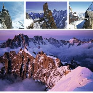 Views of Mont Blanc 1000 PC Jigsaw Puzzle