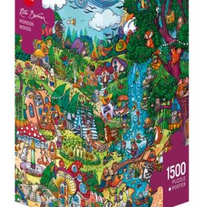 Wonderwoods 1500 PC heye Jigsaw Puzzle