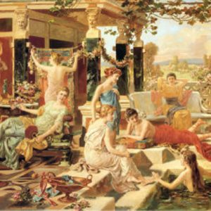 The Roman Bath 1500 PC Educa Jigsaw Puzzle