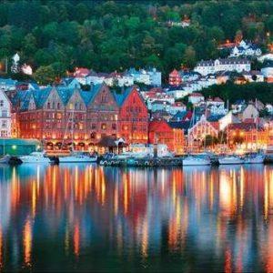 Bergen Norwegian 1000 PC Jigsaw Puzzle
