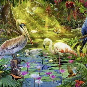 Bird Paradise 1000 PC Jigsaw Puzzle