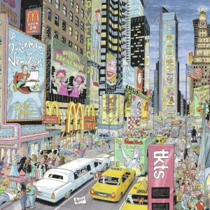 Cities of the World - New York 1000 PC Jigsaw Puzzle