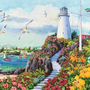 Coastal Paradise 3000 PC Jigsaw Puzzle