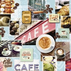 Coffee & Cake 1500 PC Jigsaw Puzzle
