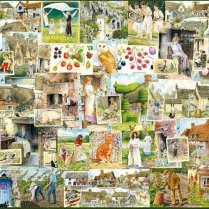 Country Life 1900's 1000 PC Jigsaw Puzzle