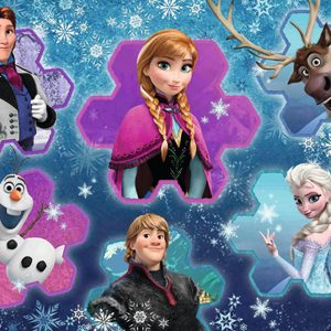 Disney Frozen 300 PC Jigsaw Puzzle