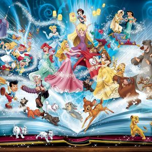 Disney Magical Story Book 1500 PC Jigsaw Puzzle
