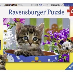 Dog and Cat 2 x 24 PC Ravensburger Puzzle