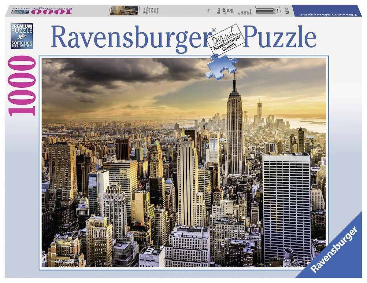 Grand new york 1000 pc ravensburger puzzle - Grand tableau new york ...