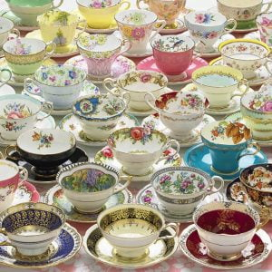 More Teacups 1000 PC Jigsaw Puzzle