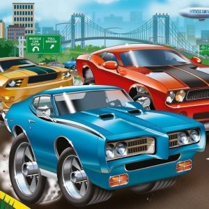 Muscle car 60 PC Children's Jigsaw Puzzle