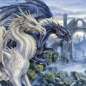 Mystical Dragon 1000 PC Ravensburger Jigsaw Puzzle