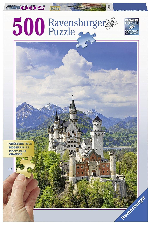 Neuschwanstein Castle 500 PC Jigsaw Puzzle