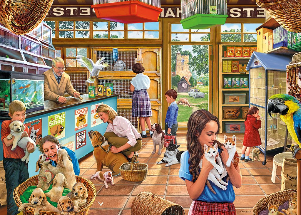 NEW FRIENDS 500 EXTRA LARGE PIECE GIBSONS JIGSAW PUZZLE