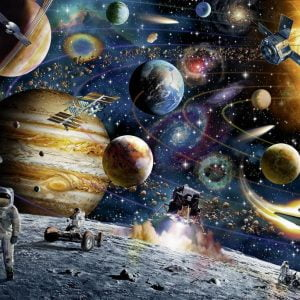Outer Space 60 PC Jigsaw Puzzle