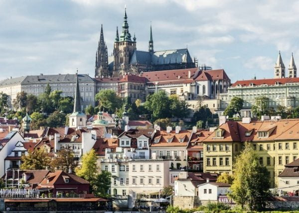 Prague Castle 1000 PC Jigsaw Puzzle