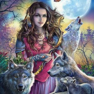 Protector of Wolves 1000 PC Ravensburger Jigsaw Puzzle