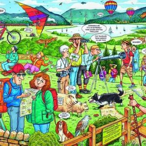 The Country Park 1000 PC Jigsaw Puzzle
