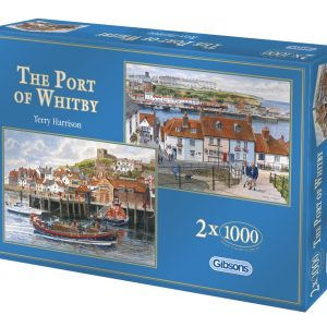 The Port of Whitby 2 x 1000 PC Jigsaw Puzzle