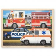 To the Rescue 24 PC Wooden Jigsaw Puzzle
