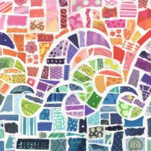 Wave Mosaic 1000 PC Jigsaw Puzzle