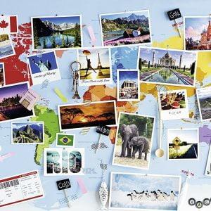 World Travel Memories 1000 PC Jigsaw Puzzle