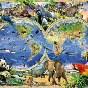 World of Wildlife 1000 PC Jigsaw Puzzle