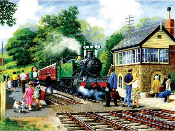 A Country Station 1000 Piece Jigsaw Puzzle