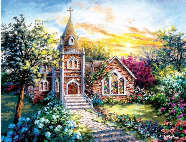 A Tranquil Setting 1000+ Larger Piece Jigsaw Puzzle