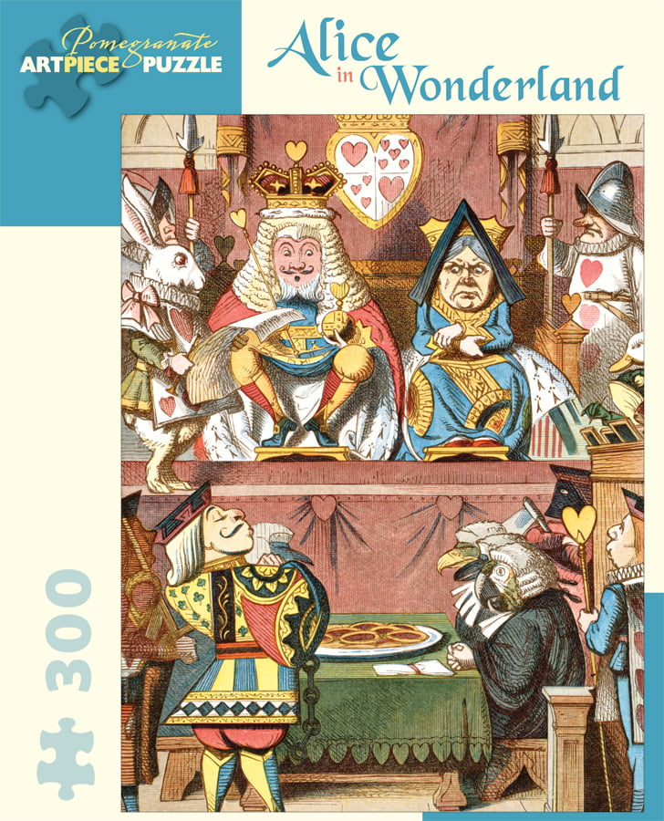 Alice in Wonderland 300 larger Piece Jigsaw Puzzle