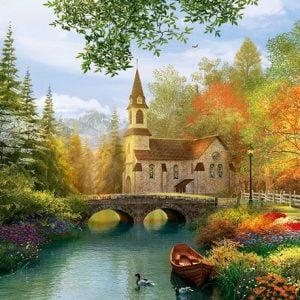 Autumn Nostalgia 4000 Piece Jigsaw Puzzle