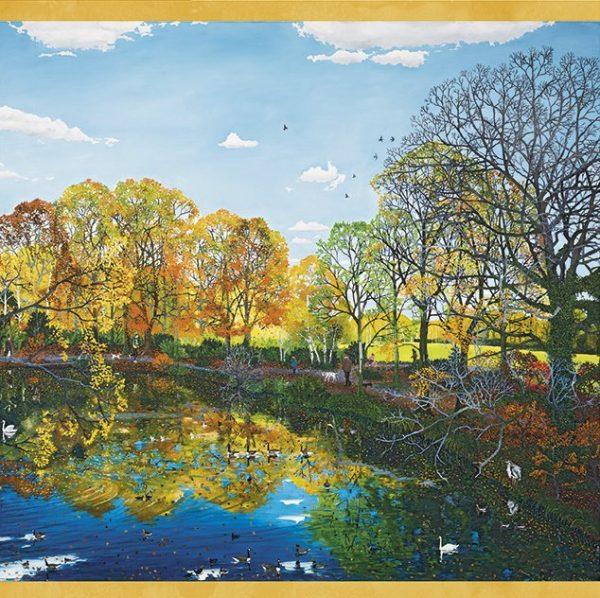 Autumn Reflections 1000 PC Jigsaw Pomegranate Jigsaw Puzzle